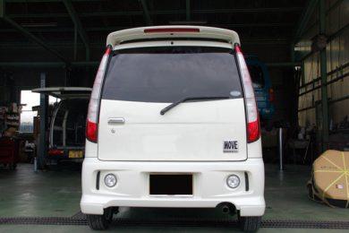 ダイハツ ムーヴ(MOVE)(L900S)にナビとバックモニターを取り付けしました