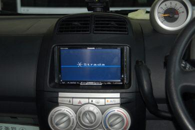 トヨタ パッソ(QNC10)にカーナビを取り付けしました