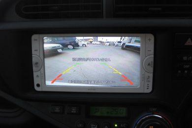 トヨタ アクア(NHP10)にカーナビとバックカメラを取り付けしました